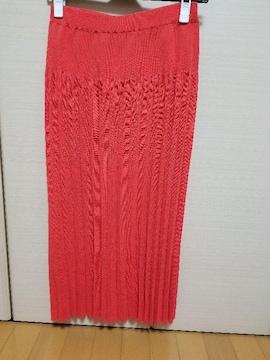 プラステ ニットプリーツスカート 試着のみ