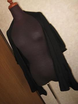 エー・ティー/A.T☆黒半袖カーデ
