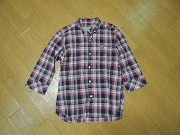 ノンネイティブnonnative7分丈チェックシャツ0薄手