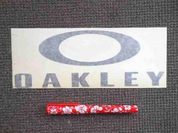USA正規品 オークリー プロ愛用 ステッカー L23cm 切り文字 TEAM OAKLEY