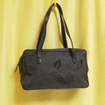 【百貨店購入】Yoshinoya GINZA★軽量ナイロン 皮革使用バック★新品