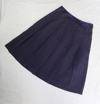 ◆GALLERY VISCONTI/格子柄 フレアスカート/サイズ1