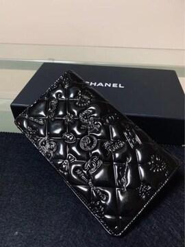 ◆正規品◆ 極上美品◆ シャネル CHANEL アイコン レザー 長財布