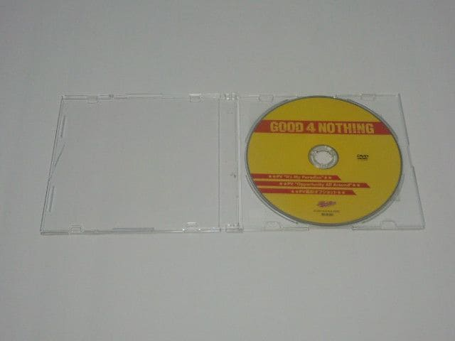 GOOD 4 NOTHING/非売品/DVD/ PV/パンク/バンド  < タレントグッズの