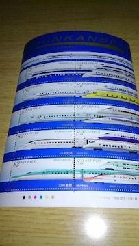 新幹線 鉄道開業50周年 82円×10枚