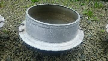 アンティーク羽釜 お釜 28cm 骨董品