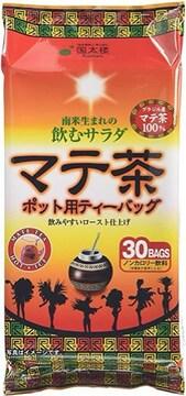 国太楼 ポット用 マテ茶ティーバッグ 30P6個