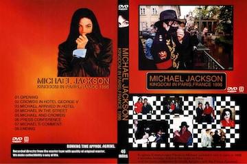 ≪送料無料≫マイケルジャクソン KINGDOM IN PARIS,FRANCE 1996
