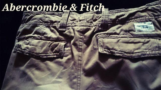 【Abercrombie&Fitch】最高峰 Vintage デストロイカーゴパンツ  32/Khaki < ブランドの