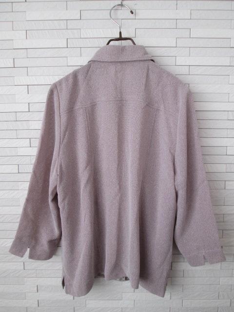 美品即決/日本製/七分袖ゆったりブラウス/ピンク/婦人服/13 < 女性ファッションの