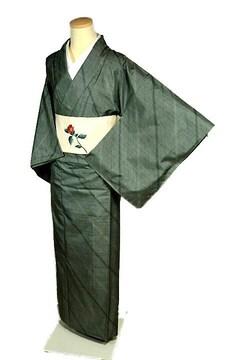 【最高級】【未使用品】 本場大島紬【名匠 たかし】小紋 T2095