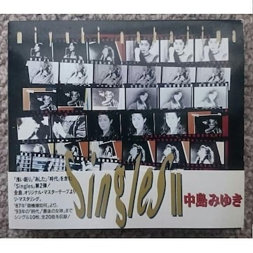 KF  中島みゆき  シングルス2  singles�U