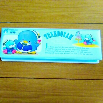 新品 デッドストック タキシードサム サンリオ 筆箱 ペンケース