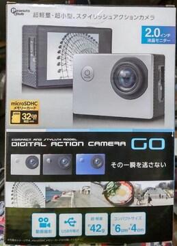 未使用動画撮影デジタルアクションカメラ