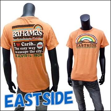 アメカジサーフTシャツ オレンジ LL[2143]