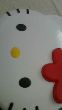 キティフェイスケース 赤×白
