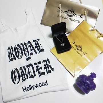 【激レア】ROYAL ORDER/ロイヤルオーダー【本店限定】ネックレス・1点物など3点