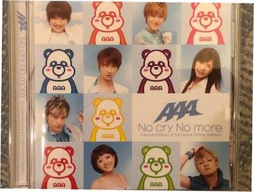 激レア!☆AAA/Nocry Nomore☆会場限定盤CD☆サインポスター付!☆