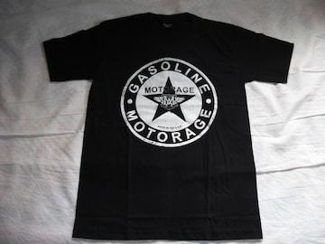 ブラックTシャツMサイズ(新品未使用品)motorage gasolin
