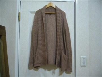 GAP/ざっくり編み長袖ニットカーディガン