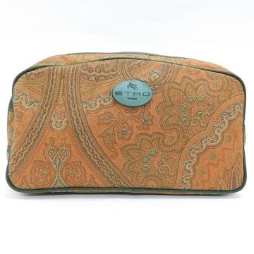 美品ETROエトロ セカンドバッグ クラッチペイズリー柄 正規品
