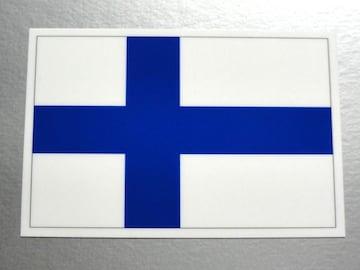 1■フィンランド国旗ステッカー1枚 シール ☆即買!■