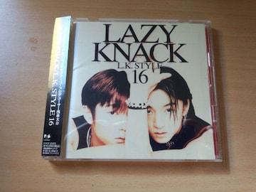 レイジー・ナックCD「L.K.STYLE  16」LAZY  KNACK●