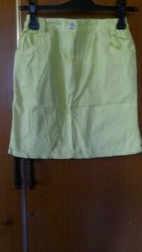 ∞黄色のスカート