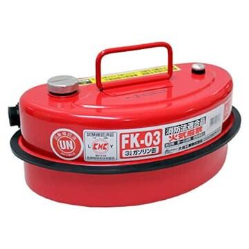 色レッド サイズ容量:3 メルテック ガソリン携行缶 3L 消防法適