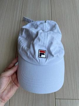 FILA フィラ キャップ 帽子 紫外線対策 キッズ レディース