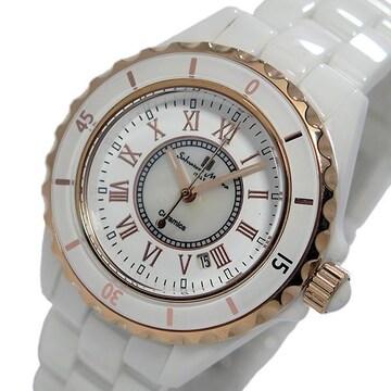サルバトーレマーラ 腕時計 SM15151-PGWHR