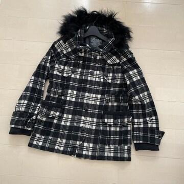 チェックコート ジャケット