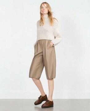 新品 ザラ クロップド丈セーター ニット