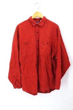 patagonia(パタゴニア)ポルトガル製 総柄長袖シャツシャツ