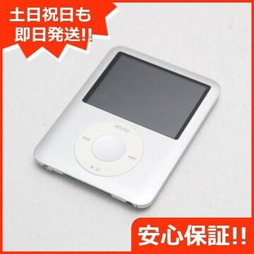 ●安心保証●美品●iPOD nano 第3世代 8GB シルバー●