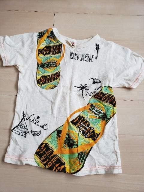 ディラッシュ120Tシャツ  < キッズ/ベビーの