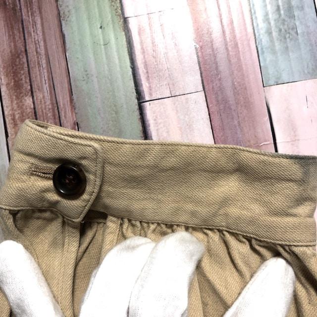 DIGAWEL タック チノパンツ 裾にボタン < 男性ファッションの