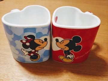 ミッキー&ミニーペアカップ