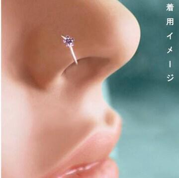 新品[8221]鼻ピアス/フェイクピアス/ノーホール