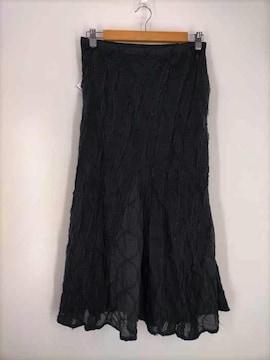 Haat ISSEY MIYAKE(ハート イッセイミヤケ)コットンリネンロングスカートスカート