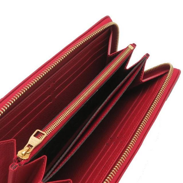 本物美品◆ヴィトン【モノグラムレティーロ:赤】長財布ジッピー < ブランドの