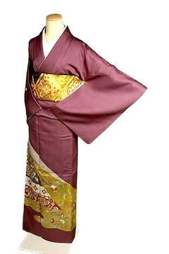 【最高級】新品同様 金彩の魔術師【堀省平】 色留袖 T2086