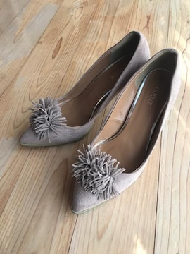 nouer ヌエール パンプス 靴 レディース   ベージュ 37 23.5