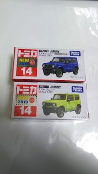 NO.14SUZUKI   JIMNY  初回特別仕様と初回シール