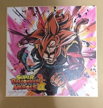 一番くじ★スーパードラゴンボールヒーローズSAGA【G賞】色紙(ゴジータ)