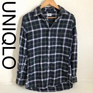 UNIQLO チェックシャツ□