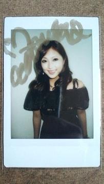 〓辰巳奈都子〓直筆サイン入りチェキ�A