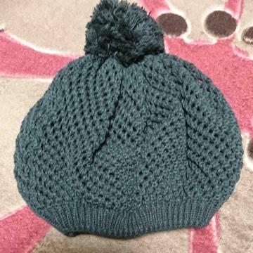 ニット帽★グレー
