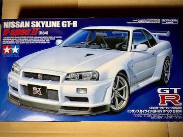 1/24 タミヤ スカイライン GT-R VスペックII (R34)