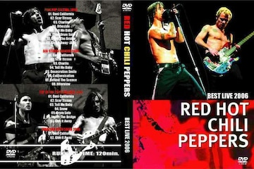 RED HOT CHILI PEPPERS BEST LIVE 2006 レッチリ